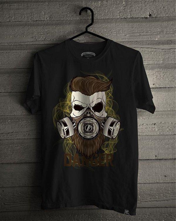 Camiseta T-Shirt Barba Forte Danger