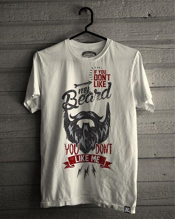 Camiseta T-Shirt Barba Forte Like Me