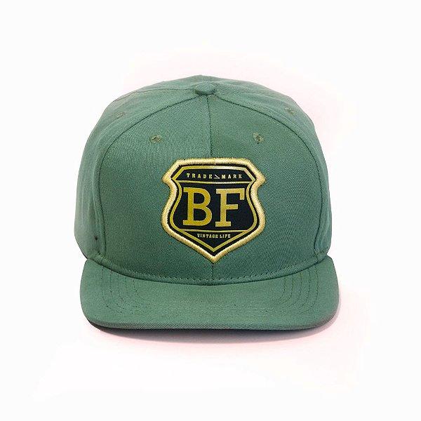 Boné SnapBack Aba Reta Barba Forte Militar