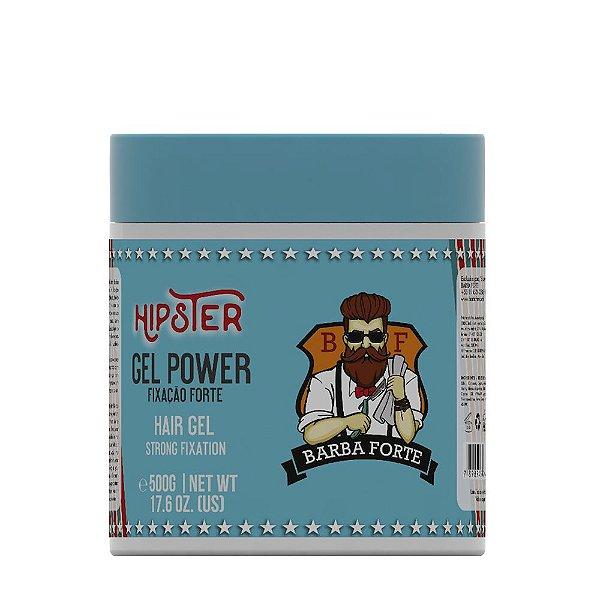 Gel Power Hipster Barba Forte  500g