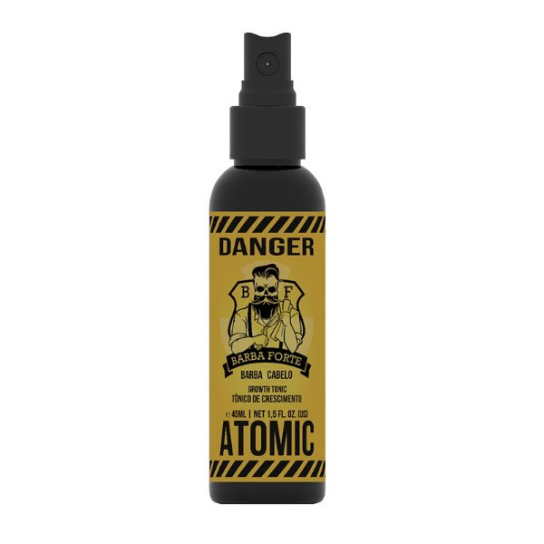 Tônico de Crescimento Atomic Danger Barba Forte 45ml