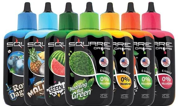 Líquido e-Juice Square Drops