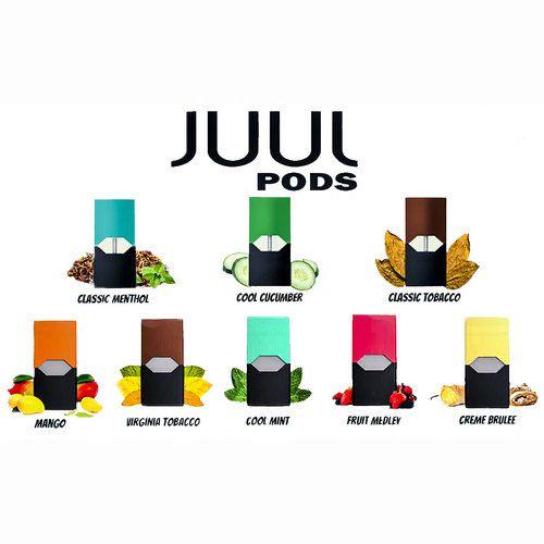 JUUL Pods Refil c/4