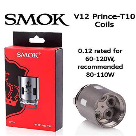 Resistência V12 Prince T10 -  Smok