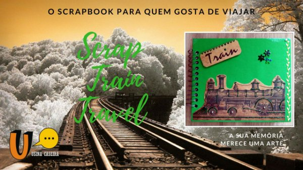 Álbum de fotos - Scrap Train Travel