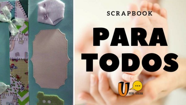 Livro de memórias Paratodos (Scrap Paratodos)