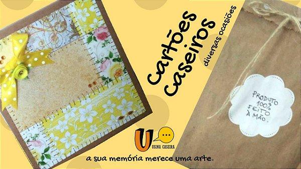 Cartões Criativos - Diversas Ocasiões