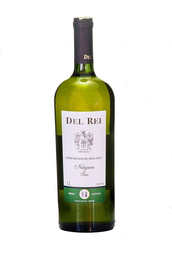 Vinho Del Rei Branco Seco Niagara 1l