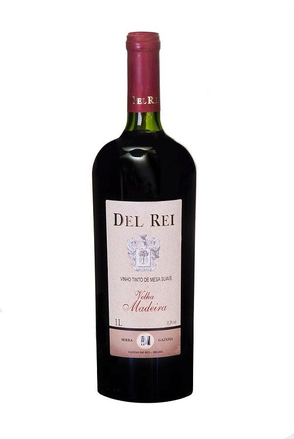 Vinho Del Rei Tinto Velha Madeira 1l