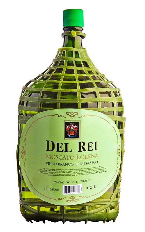 Vinho Del Rei Branco Seco Moscato Lorena 4,6l