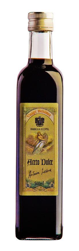 Vinagre Del Rei Balsâmico Aceto Dulce Antenisca Lodena 500ml