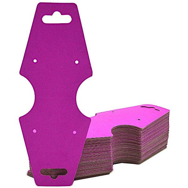 Cartela Gravata Media Para Conjunto - 4,9 X 12 cm - C29B Pink Fosco