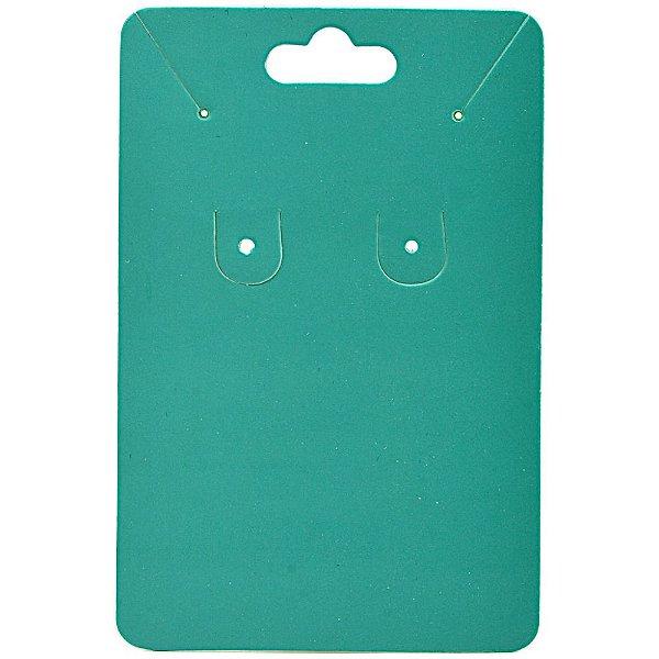 Cartela Para Brinco e Corrente  - 6,5 X 10 cm - C40 Tiffany