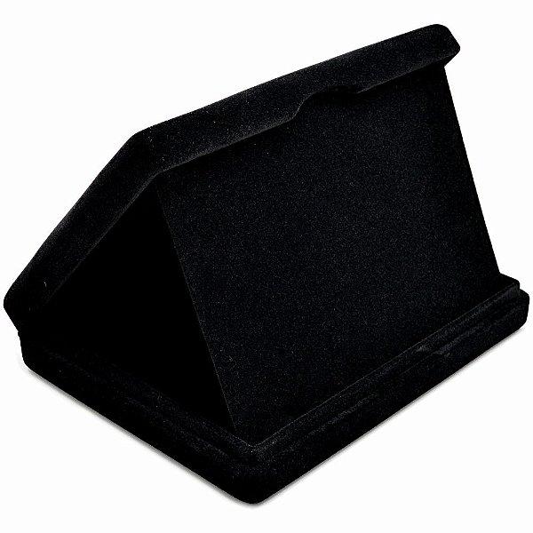 Estojo Para Placa De Homenagem - 17 x 13 cm Veludo Preto