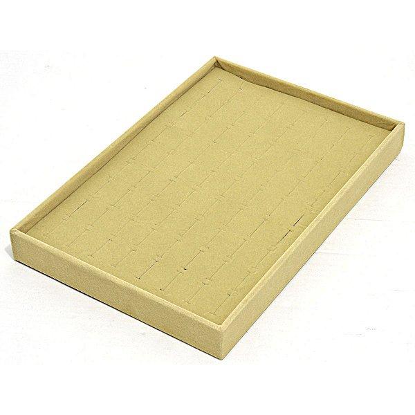 Bandeja Media para Anéis 30 x 20 x 3 cm - Veludo Sem Capa