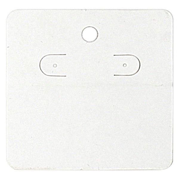 Cartela Para Brincos 6 x 6 cm - C44 Branca