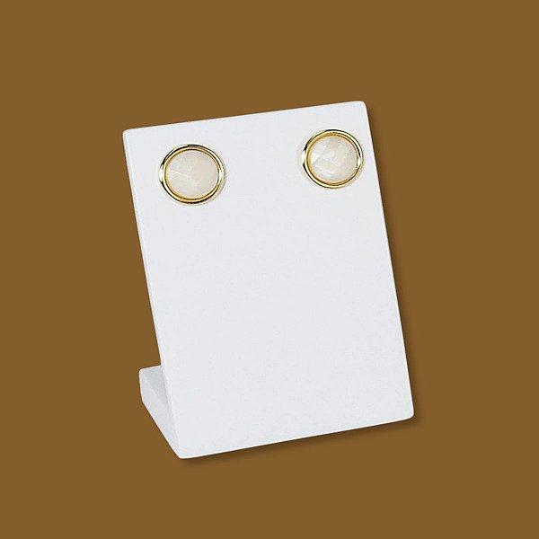 Expositor pequeno para Brinco - MDF Laqueado Branco