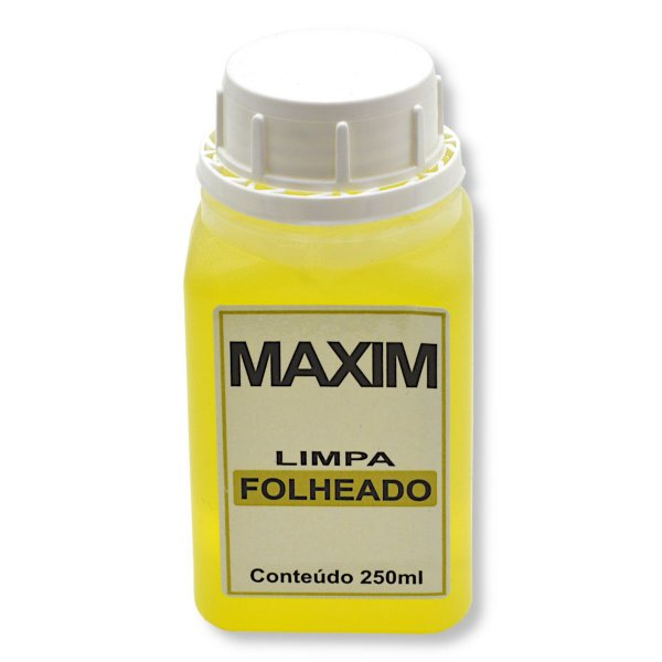 Limpa Folheados Maxim 250 ml