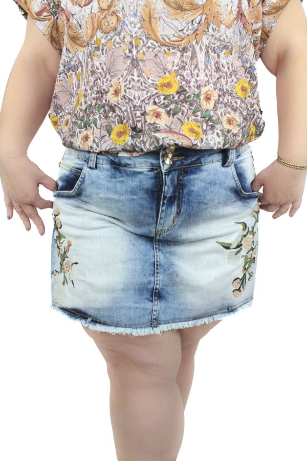 SHORTS SAIA PLUS SIZE DREAM