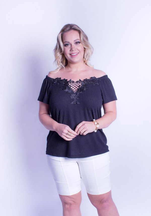BLUSA PLUS SIZE AMY