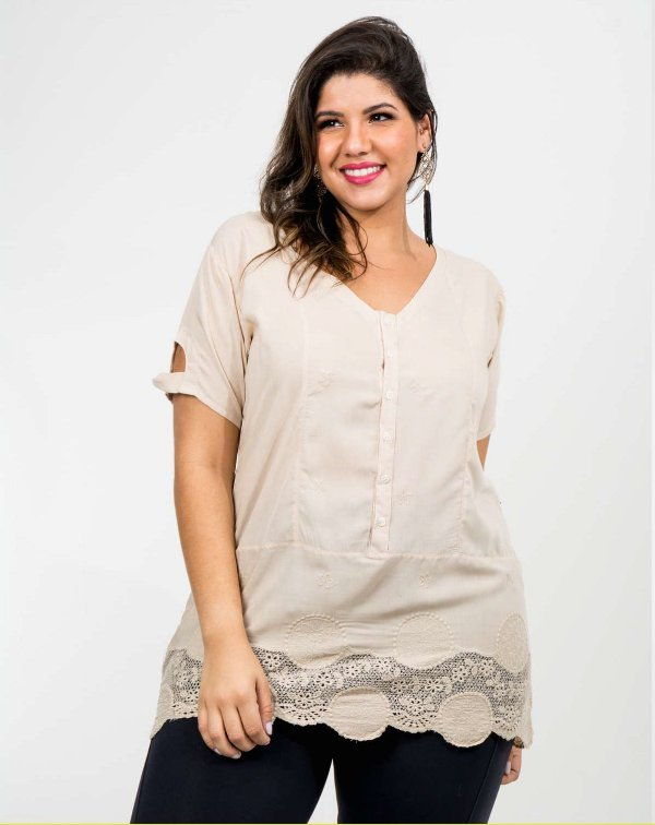 BLUSA PLUS SIZE DENVER