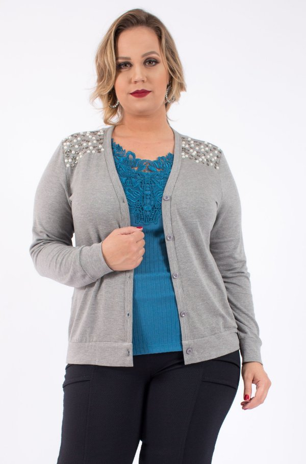 CARDIGAN PLUS SIZE LIA