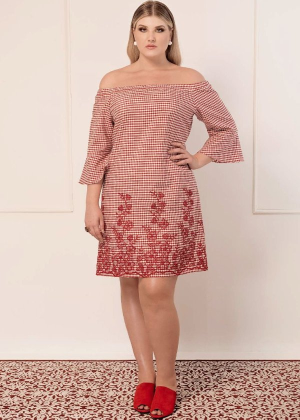 VESTIDO PLUS SIZE JOY