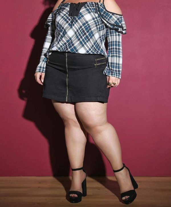 SHORT SAIA PLUS SIZE DREAM