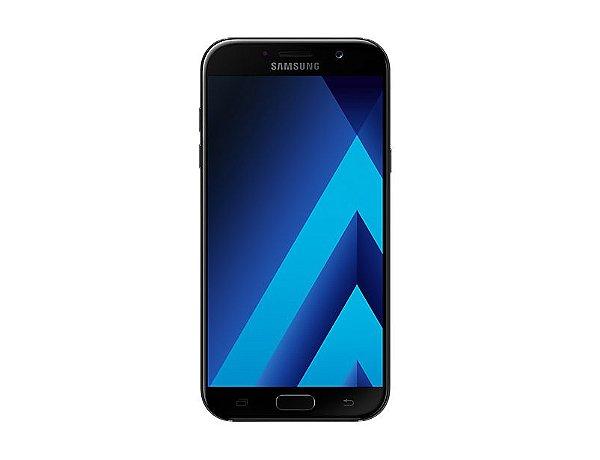 "Smartphone Samsung Galaxy A7 Dual Chip Android 6.0 Tela 5.7"" Octa-Core 1.9GHz 32GB 4G Câmera 16MP - Preto"