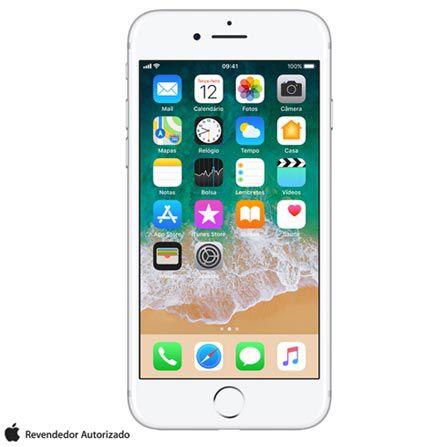 """iPhone 7 Prata com Tela de 4,7"""", 4G, 32 GB e Câmera de 12 MP"""