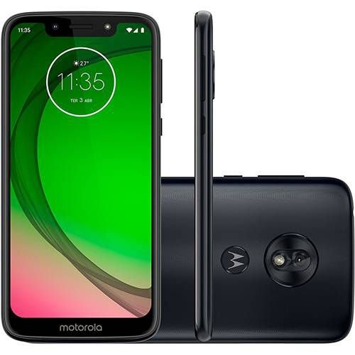 Smartphone Motorola Moto G7 Play 32GB Dual Chip Android Pie Indigo