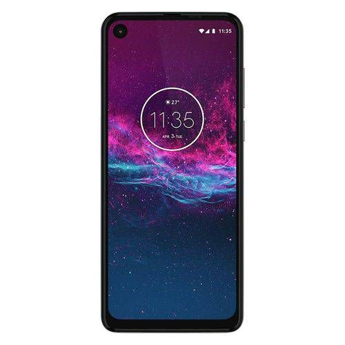 "Smartphone Motorola One Action 128GB Dual Android Pie 9.0 Tela 6.3"" Exynos 9609 (S925) 4G Câmera 12+5+16MP branco"