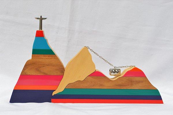 Escultura Rio de Janeiro   Colorida   RS