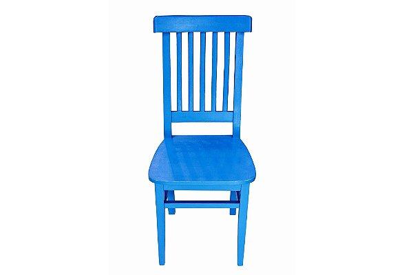 Cadeira Modelo Régua Colorida
