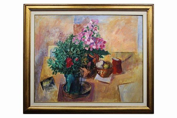 Flores e Objetos | 80x100cm