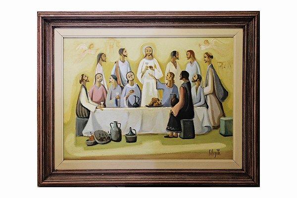 Ceia de Cristo | 79 x 67,5cm