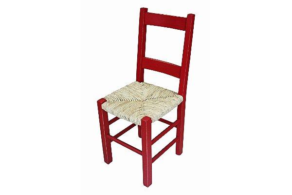 Cadeira Assento de Palha