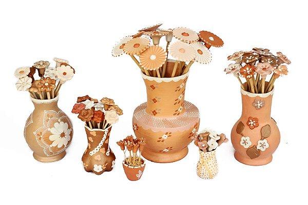 Vasos de Flores Vale do Jequitinhonha