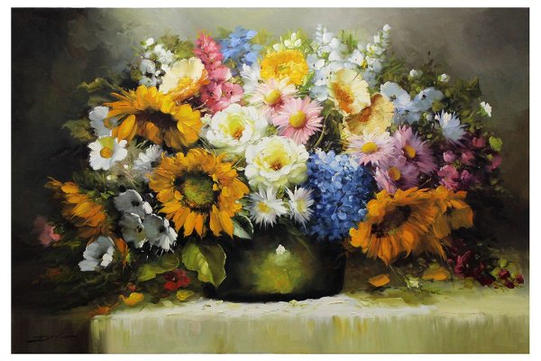 Vaso de Flores | 100x150cm