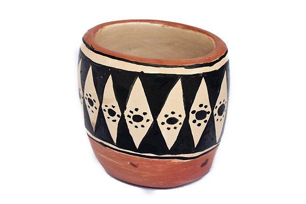 Vaso de cerâmica Indígena