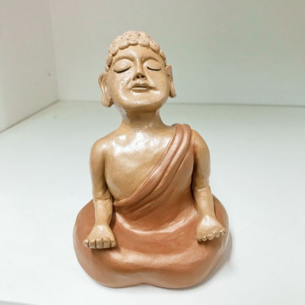 Buda em cerâmica | Venilsa Fonseca | MG