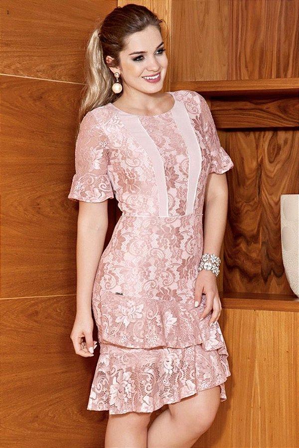 Vestidos de renda moda evangelica