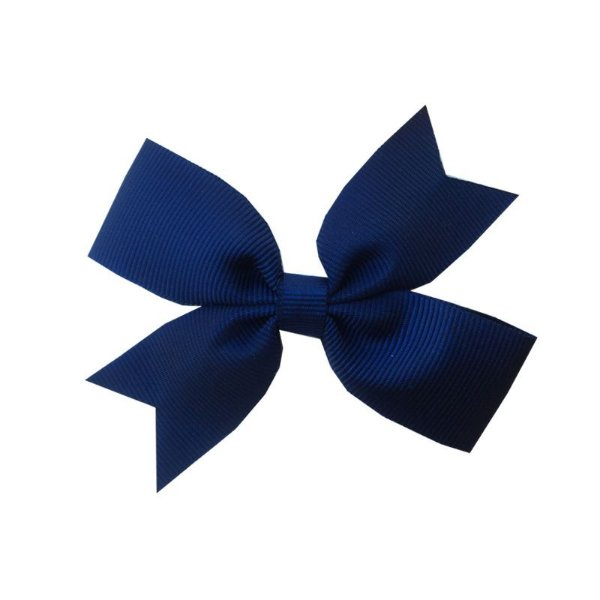 Laço para Cabelo Azul Marinho - M