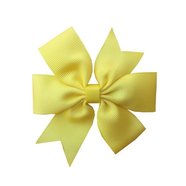 Laço de Cabelo Amarelo - M