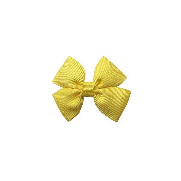Laço Infantil Pequeno Amarelo - P