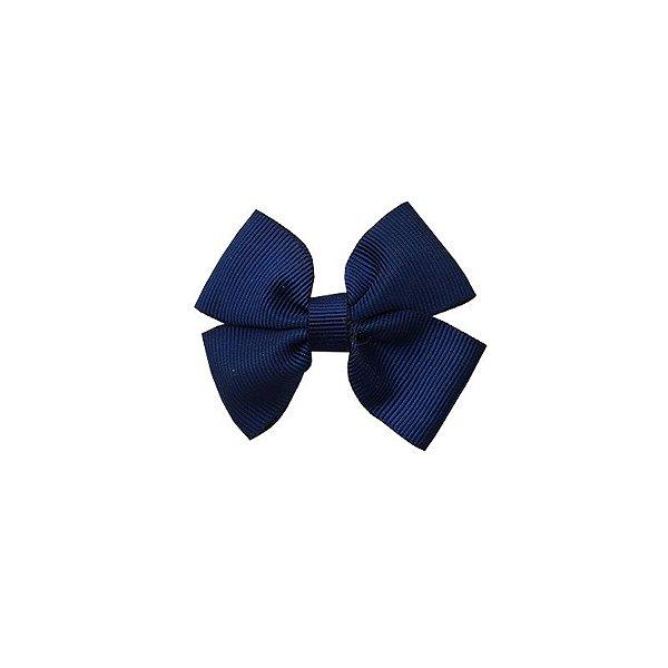 Laço Infantil Pequeno Azul Marinho - P