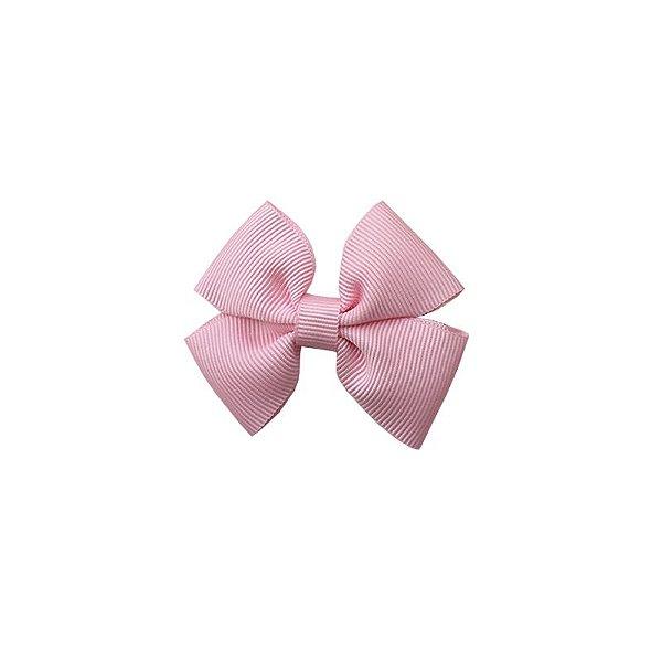 Laço Infantil Pequeno Rosa Claro - P