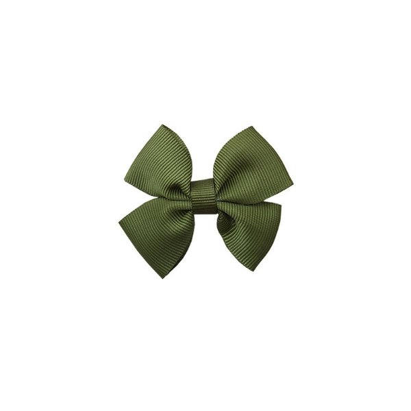 Laço Infantil Pequeno Verde Escuro - P