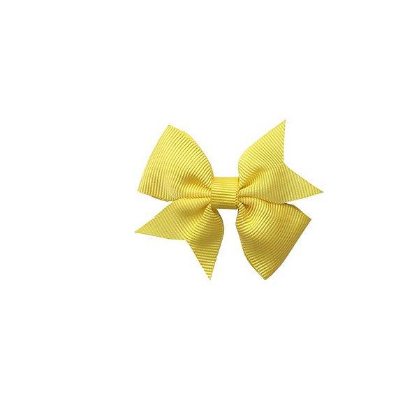 Laço para Cabelo Infantil Amarelo - P
