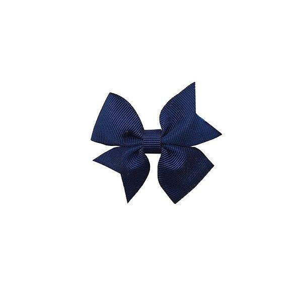Laço para Cabelo Infantil Azul Marinho - P